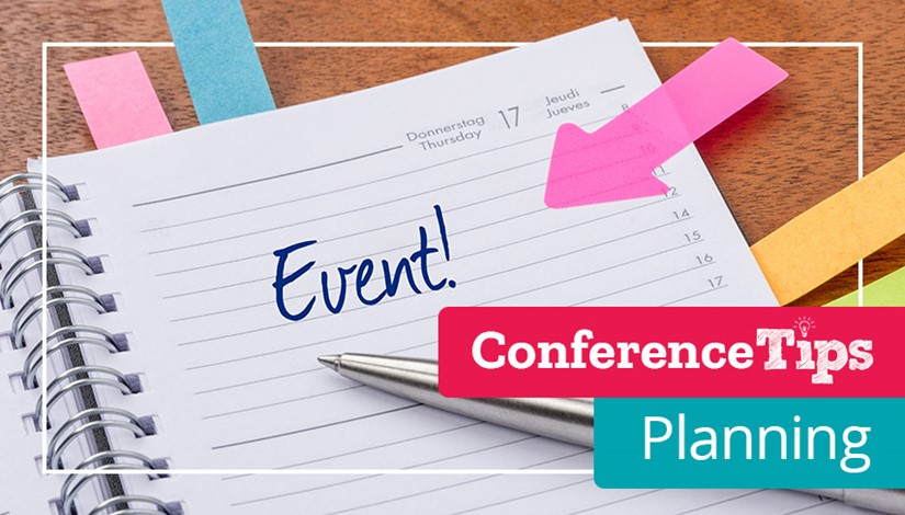 Conference Tips - Planning